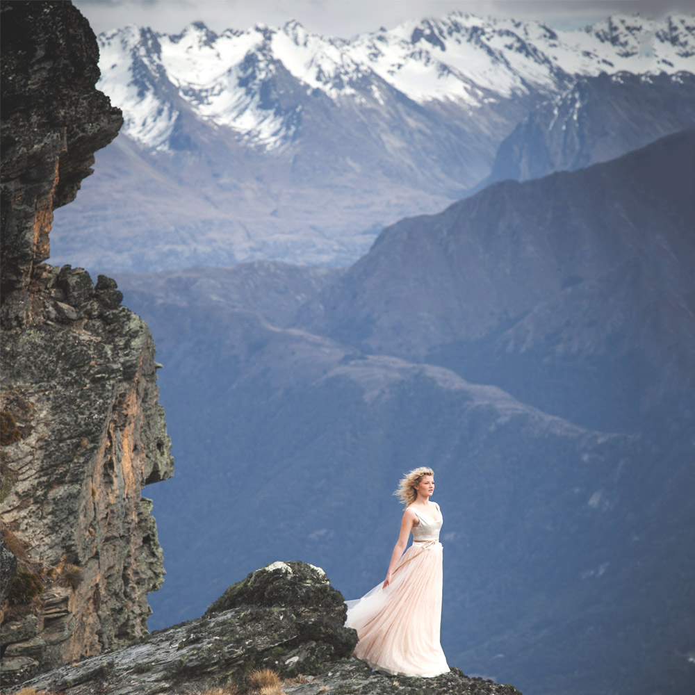 My Wedding Shoot in Queenstown hair and makeup