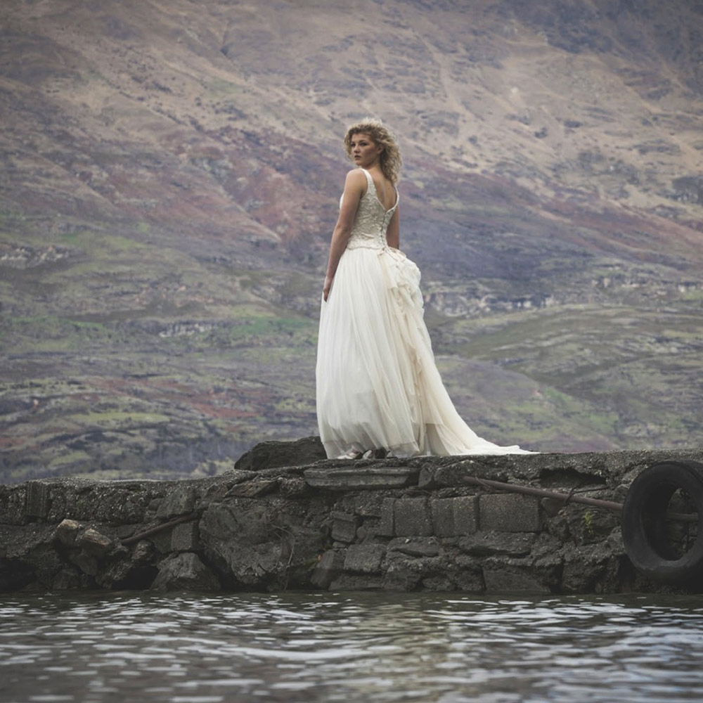 My Wedding Photoshoot in Queenstown lake