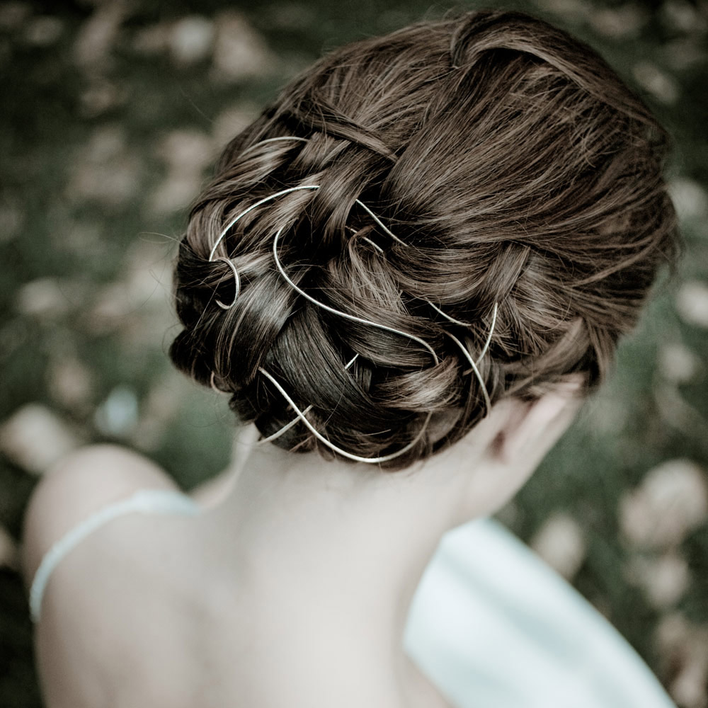 Christchurch Bridal Hair Weave for ChCh Bridal Fashion Show