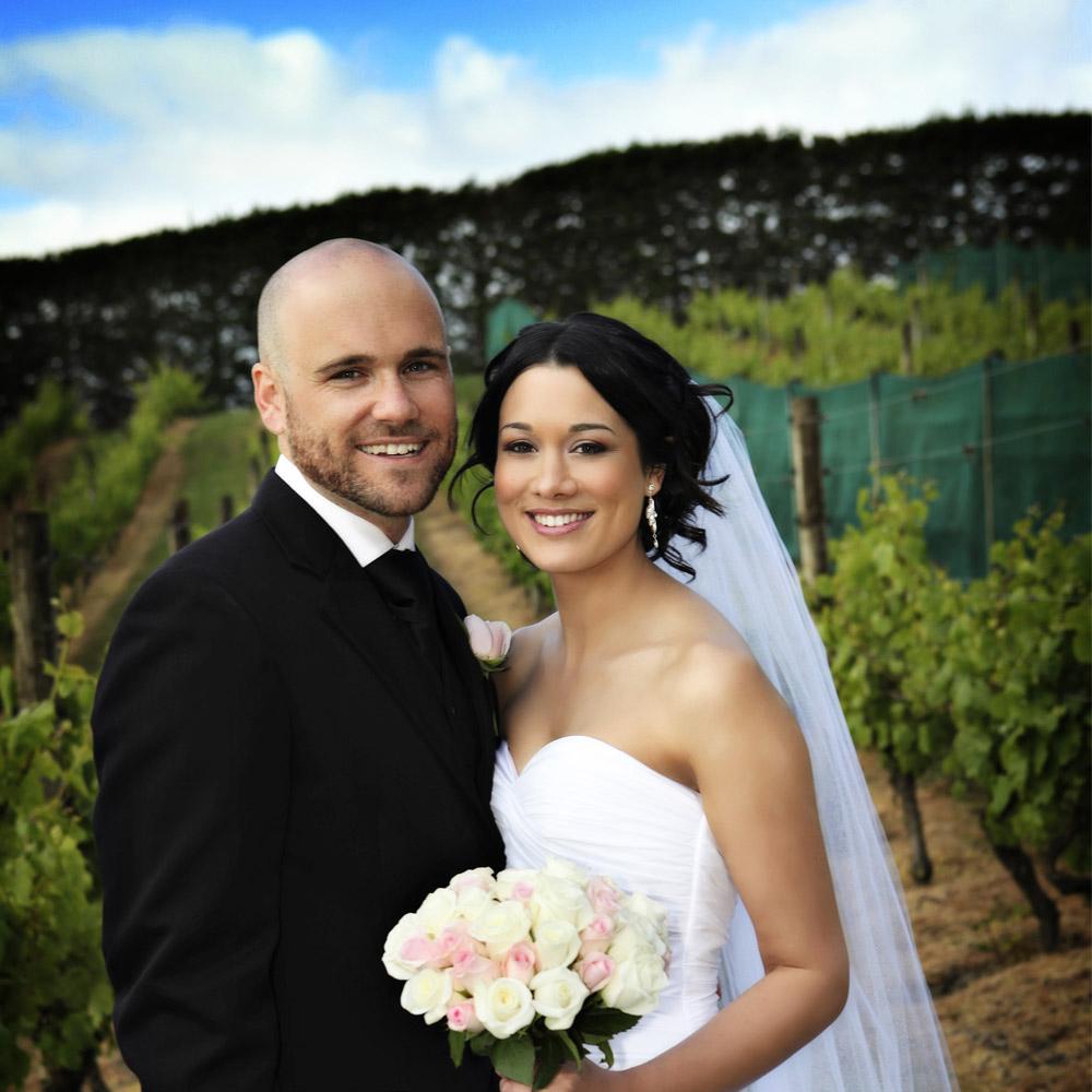 Sharde and Vaughan Waiheke Wedding