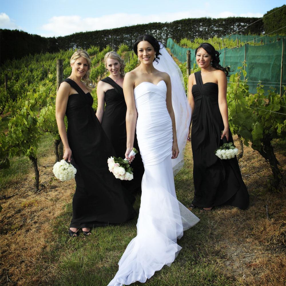Sharde & Bridesmaids