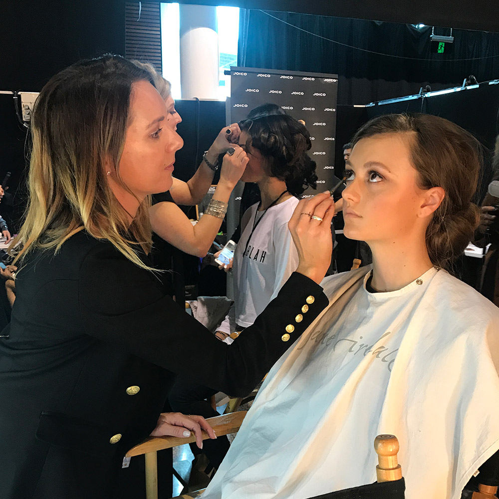 Jane Iredale at NZ Fashion Week