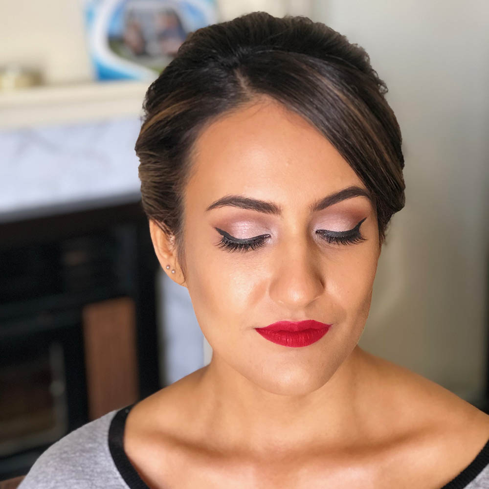 Our stunning Egyptian Bride – Wedding Makeup and Hair