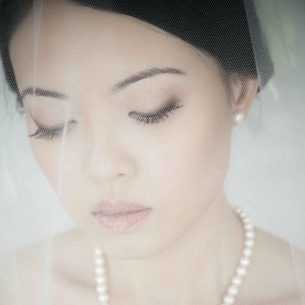 Chinese Bridal Makeup and Hair