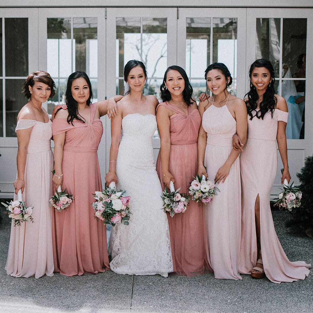 Island Weddings & Multicultural Bridal Parties